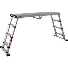 Telescopic working platform
