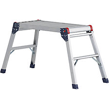 Aluminium working platform