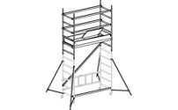 SAFE-T SOLUTION aluminium mobile access tower
