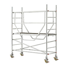 Safety mobile access tower