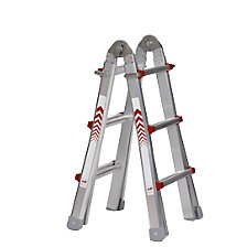 Telescopische multifunctionele ladder