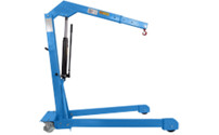 BLUE workshop crane