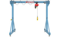 Steel mobile gantry crane PA