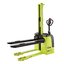 Electric drawbar stacker