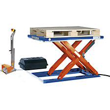 Low profile lift table