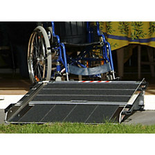 Ramp, height adjustable