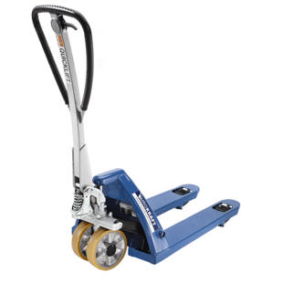 Pallet truck with QuickLift