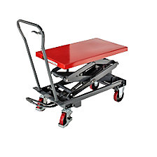 Lifting platform trolley