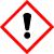 Gefahrstoffklasse GHS07 – Achtung, reizende Substanzen