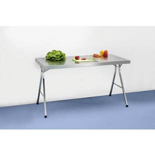 table pliante en inox m1006479 gaerner france. Black Bedroom Furniture Sets. Home Design Ideas