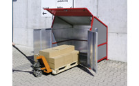 Waste bin enclosures