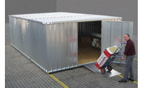 Materials container combination