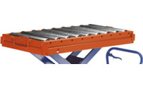 Roller conveyor, fixed