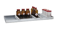 Shelf / tray shelf dividers