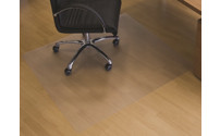 Floor protection mat made of recycled polycarbonate