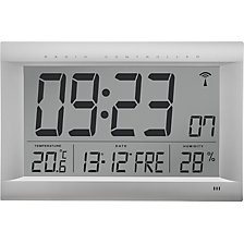 LCD radio synchronised wall clock