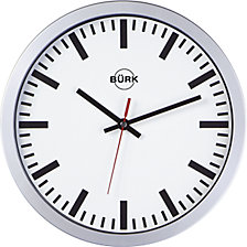 Wall clock with plastic housing, Ø 300 mm