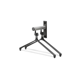 Small wall mounted coat rack made of aluminium