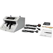 Counting machine for unsorted counting