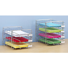 Steel wire basket sorting tray