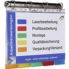 4-ring binder set (A4)