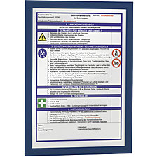 for A4, blue frame, pack of 10