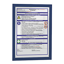 for A4, blue frame, pack of 20