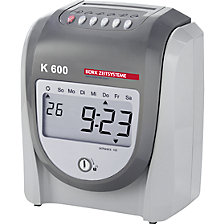 K 600 time and attendance calculation device