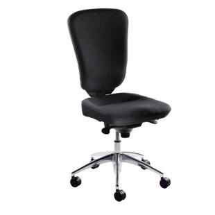 Ergonomic swivel chair, back rest height 580 mm