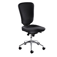 without arm rests, black covering