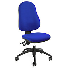 Operator swivel chair, back rest height 520 mm