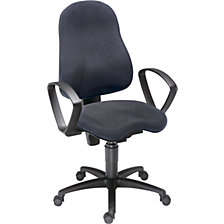 Operator swivel chair, permanent contact mechanism and Orthositz® orthopaedic seat