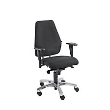 Operator swivel chair, point synchronous mechanism