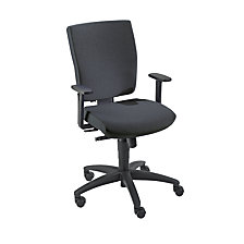 Operator swivel chair, synchronous mechanism
