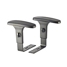 Height adjustable arm rests