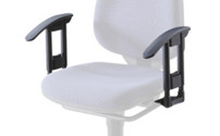 Office swivel chair arm rests