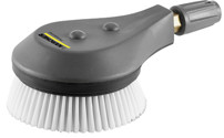Cleaning brush, rotating