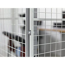 Corner bracket for X-STORE partition system