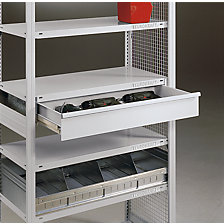 Lock for individual drawers