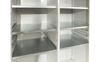 Shelf for heavy duty cupboard