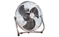 Floor fan with carrying handle