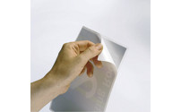 Laminating pouches, self-adhesive