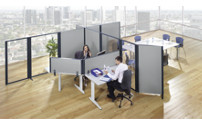 Desk partition