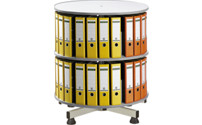 Rotary filing system