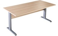 BASIC-II - Desk with C-foot frame
