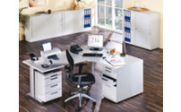 FINO - Desk with C-foot frame