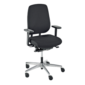 Operator swivel chair, synchronous mechanism, sliding seat