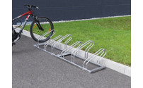 Bicycle rack, bars made of 18 mm steel tubing