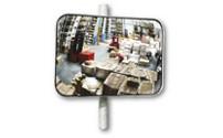 Universal mirror for indoor and outdoor use