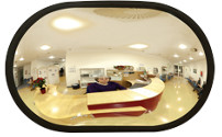 Indoor mirror made of acrylic glass